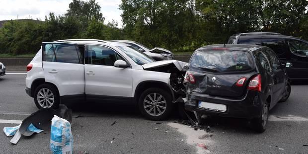 Impressionnant accident sur la E411 à Louvain-la-Neuve, de nombreuses files (PHOTOS et VIDEO) - La Libre