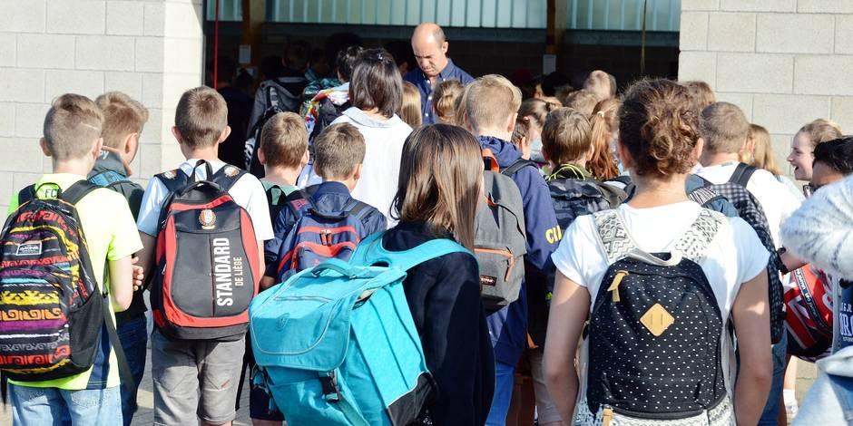 Le monde de l'école s'inquiète de la crise politique - La Libre