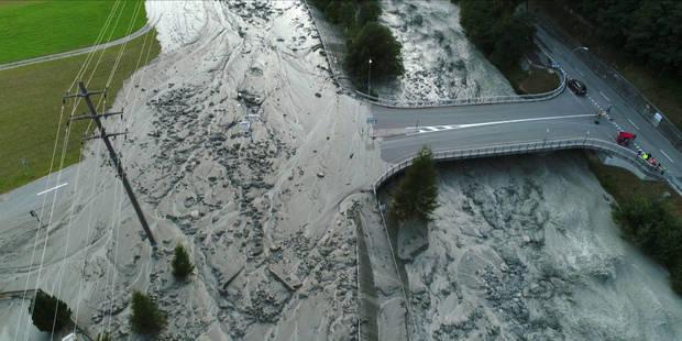Glissement de terrain dans les Alpes en Suisse: 8 randonneurs sont toujours portés disparus (PHOTOS et VIDEO) - La Libre