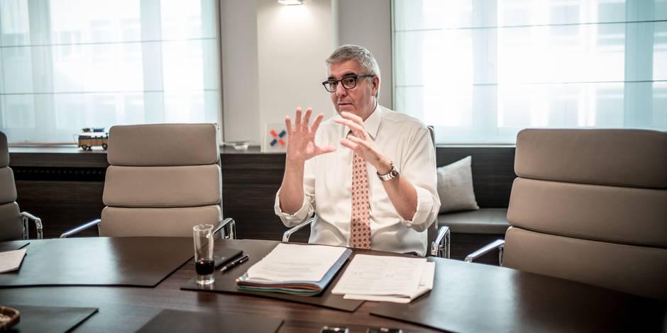 """Pieter Timmermans (FEB) : """"Il faut garder deux réacteurs nucléaires après 2025"""" - La Libre"""
