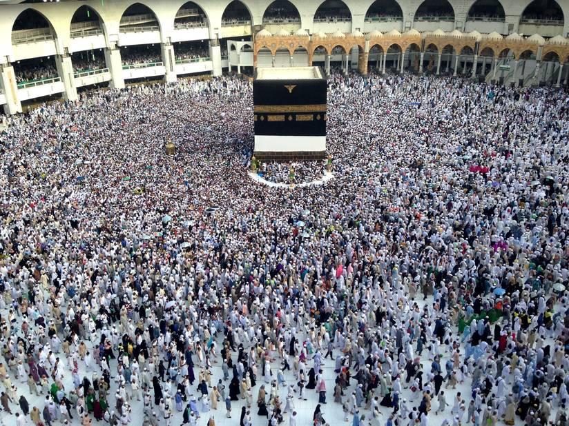 Grand p lerinage la mecque pourquoi les musulmans for A l interieur de la kaaba