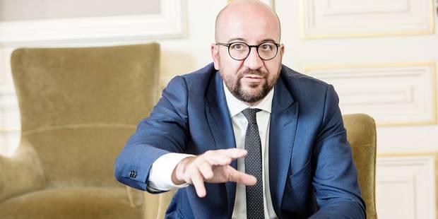 """Charles Michel sur la crise politique: """"Les attaques ad hominem contre Lutgen sont terriblement injustes"""" - La Libre"""