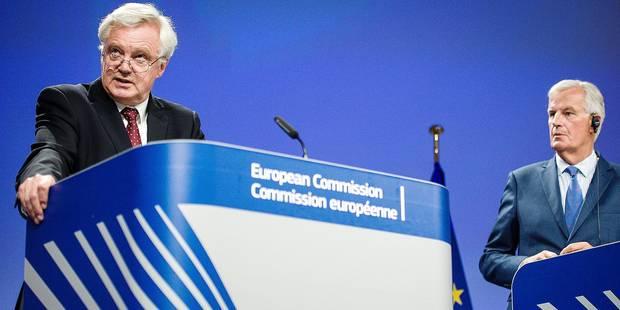 Les négociations du Brexit entrent dans le dur - La Libre