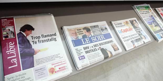 """Rossel accroît son emprise sur la presse: """"L'argent public est utilisé pour fausser la concurrence"""" - La Libre"""