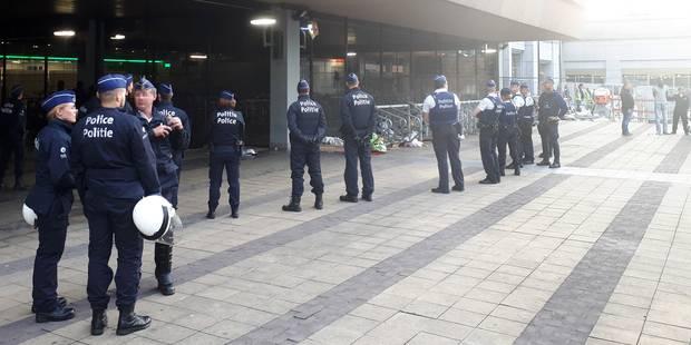 La police interpelle 23 migrants à Bruxelles-Nord - La Libre