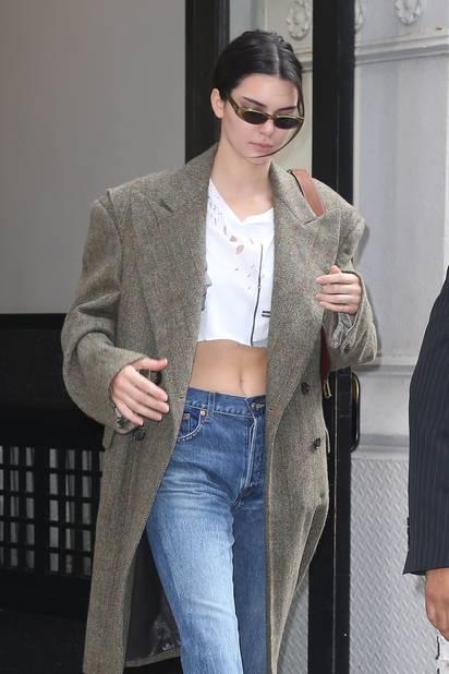 La filiforme Kendall Jenner est évidemment bel et bien là.