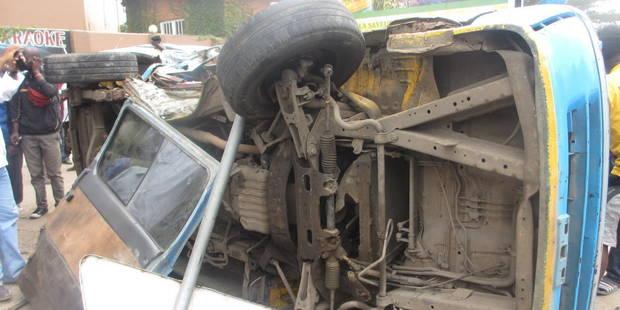 RDC : 25 morts et 57 blessés dans un accident de la route - La Libre