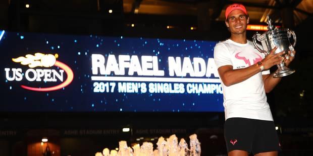 """Rafael Nadal remporte l'US Open et son 16e Grand Chelem: """"L'une de mes meilleures saisons"""" - La Libre"""