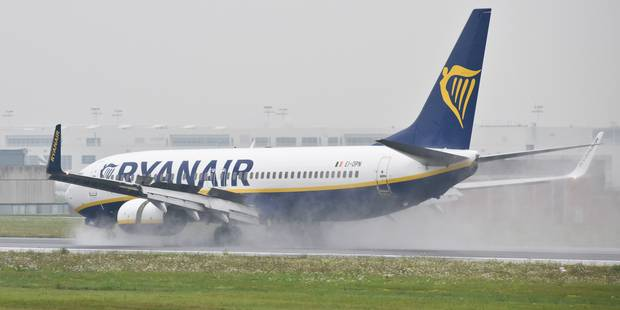 110 vols Ryanair bloqués suite à une grève des contrôleurs aériens français - La Libre