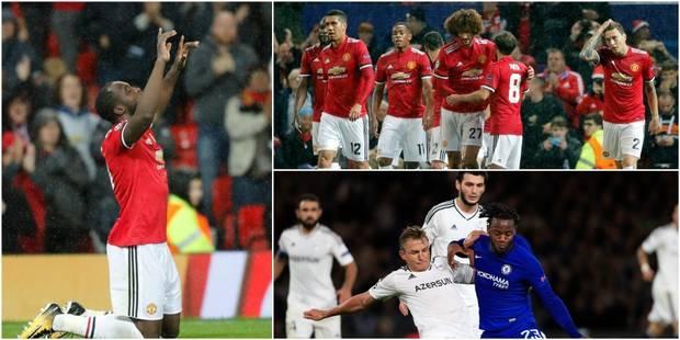 Les Belges en C1: Fellaini monte et marque, premiers buts de Lukaku et Batshuayi en Ligue des Champions! (VIDEOS) - La L...