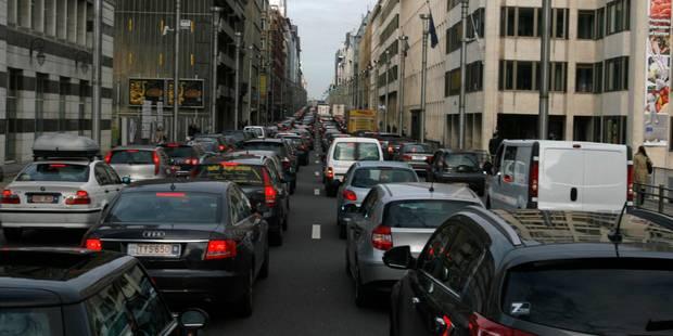Pour éviter le carbone noir, fuyez la rue de la Loi en heure de pointe (INFOGRAPHIE) - La Libre
