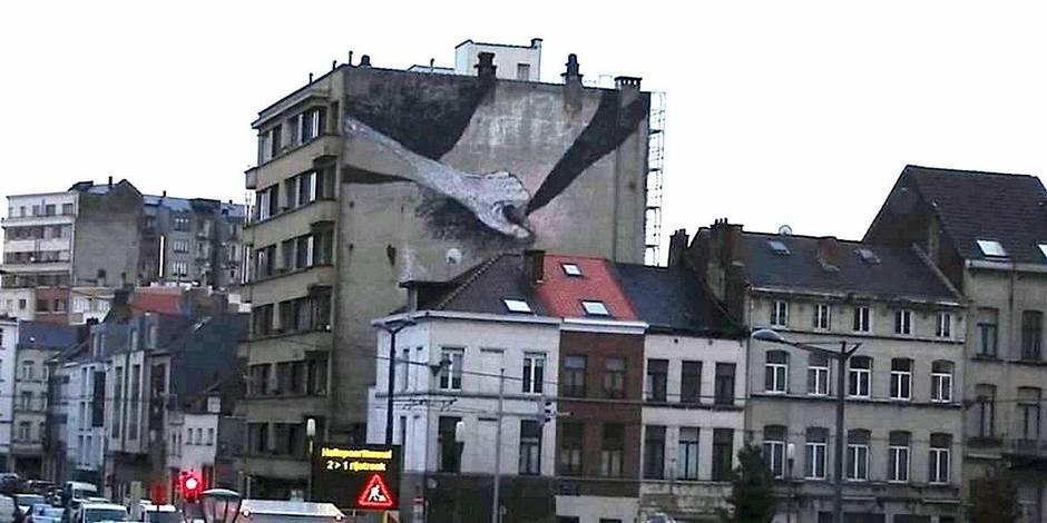 Une nouvelle fresque à caractère sexuel à Bruxelles-Ville