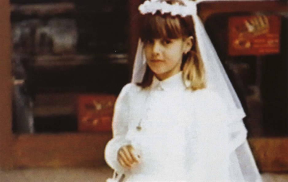 A sa communion en 1981
