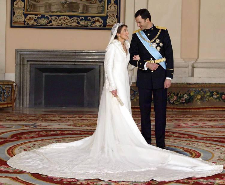 En 2004, mariage avec Felipe