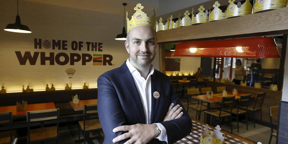 """Kevin Derycke a géré le débarquement belge de Burger King: """"Nous allons en ouvrir 50 dans les 5 ans"""" - La Libre"""