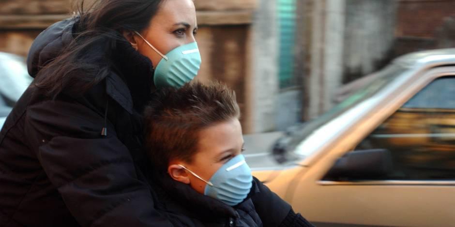 """Les citoyens demandent des actions rapides pour lutter contre la pollution: """"Nous voulons respirer un air sain maintenan..."""