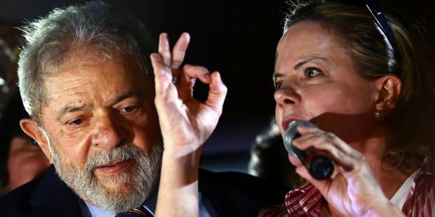 Brésil: Lula en tête des intentions de vote malgré les affaires - La Libre