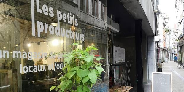 Liège: Des produits locaux et bio pour tous - La Libre