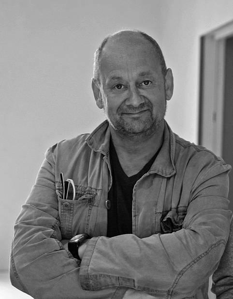 Le photographe Michel Loriaux