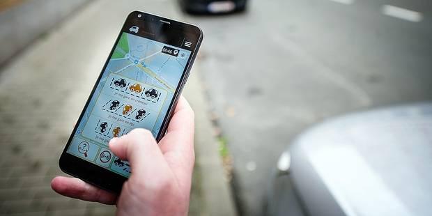 Se stationner grâce à son smartphone - La Libre