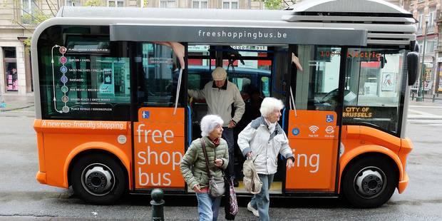 Bruxelles: Ça roule pour les shopping bus - La Libre