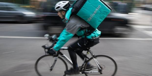 Quick, livré chez vous par Deliveroo - La Libre