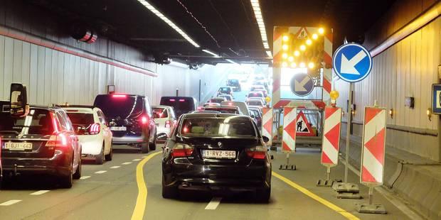 Tous les tunnels seront rénovés d'ici 15 ans à Bruxelles - La Libre