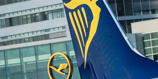 Des avions de chasse britanniques escortent un appareil de Ryanair - La Libre