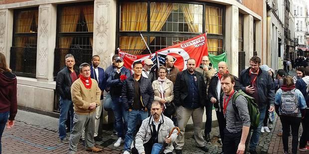 Les Armes de Bruxelles en grève - La Libre