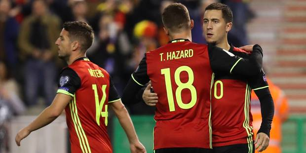 Buteurs dans le même match, les Hazard succèdent aux Mpenza - La Libre