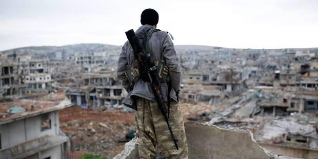 Le groupe Etat islamique revendique le triple attentat suicide de Damas - La Libre