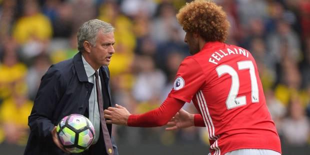 Mourinho pique Martinez au sujet de la blessure de Fellaini - La Libre