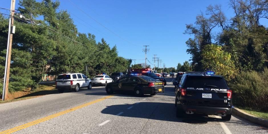 Fusillade sur une zone commerciale d'Edgewood, près de Baltimore dans le Maryland
