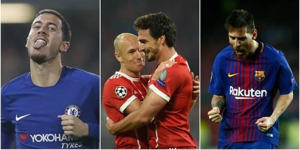 C1: Hazard et Courtois partagent contre la Roma, Lukaku continue son sans faute avec Man U - La Libre