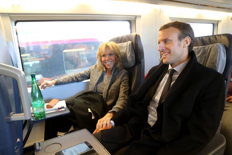 Le diner aux chandelles d'Emmanuel et Brigitte Macron