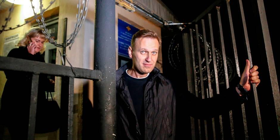 Russie. L'opposant Alexeï Navalny est sorti de prison
