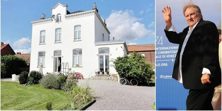 La villa de Gérard Depardieu est à vendre — Belgique