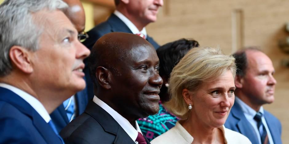 Mission économique en Côte d'Ivoire: la princesse Astrid est arrivée à Abidjan