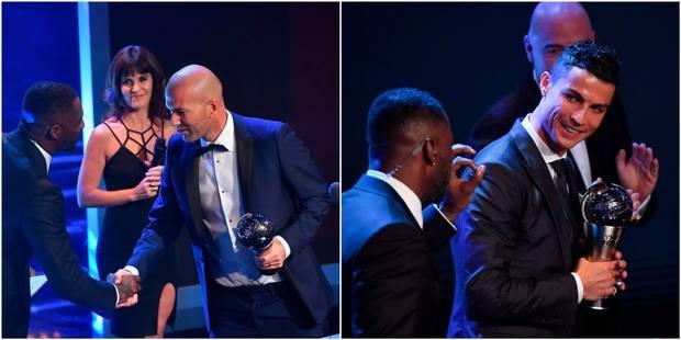 "FIFA Football Awards: Zidane meilleur entraîneur, Ronaldo meilleur joueur, Hazard et Lukaku absents du ""11"" mondial - La..."