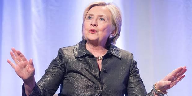 USA/Russie: Hillary Clinton a financé en partie le dossier anti-Trump - La Libre