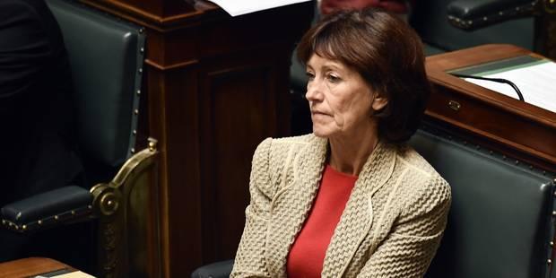 Laurette Onkelinx quitte le conseil communal de Schaerbeek - La Libre