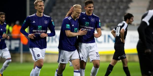 Un Anderlecht à deux visages se fait peur à Eupen (2-3) - La Libre