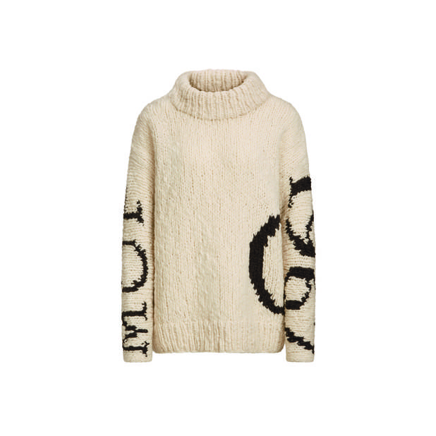 Pull à grosse maille Marc'O Polo, edition limitée 50 ans, 399€