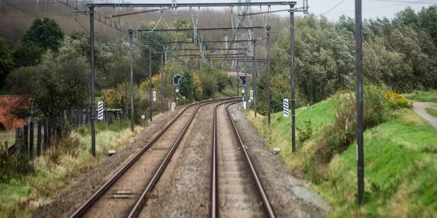 Le trafic ferroviaire reprend sur une seule voie entre Tournai et Leuze - La Libre