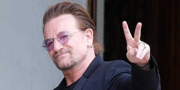 Les confessions intimes et morbides de Bono - La Libre