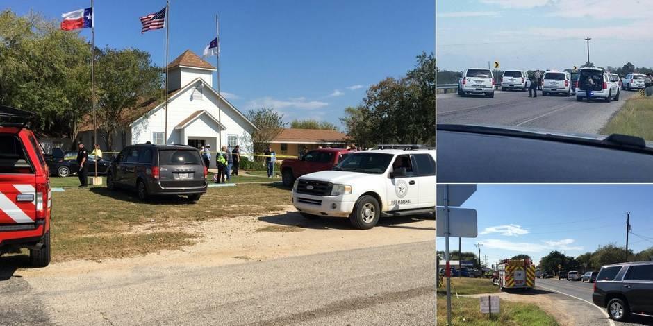 Etats-Unis : 27 morts suite à une fusillade dans une église