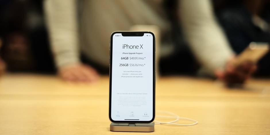 Apple: On sait enfin combien l'iPhone X coûte vraiment à construire