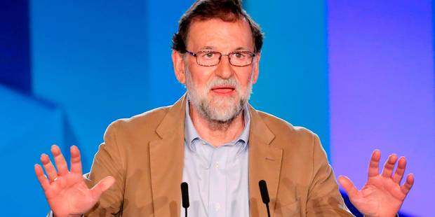 """Rajoy: """"nous voulons récupérer la Catalogne"""" démocratique et libre - La Libre"""