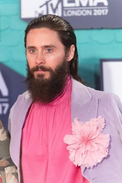Jared Leto très fleuri