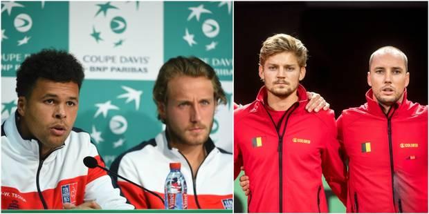 Finale de Coupe Davis France-Belgique : Darcis et Goffin face à Pouille et Tsonga - La Libre
